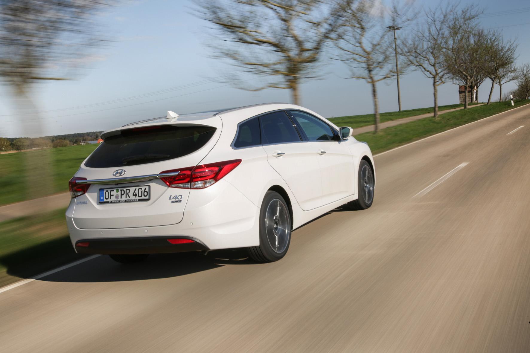 mid Groß-Gerau - Der Hyundai i40 führt die Hitparade der privat benutzten Kilometerfresser an. Hyundai