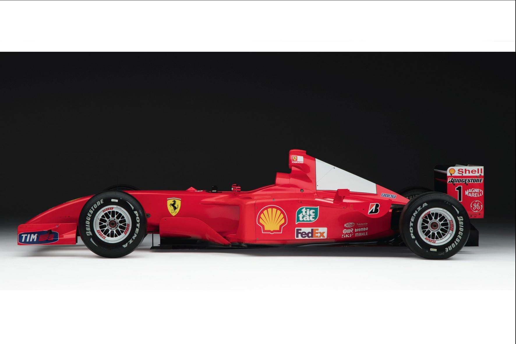 mid Groß-Gerau - Das Weltmeisterauto von Michael Schumacher brachte jetzt bei einer Auktion in New York umgerechnet 6,36 Millionen Euro ein. RM Sotheby's