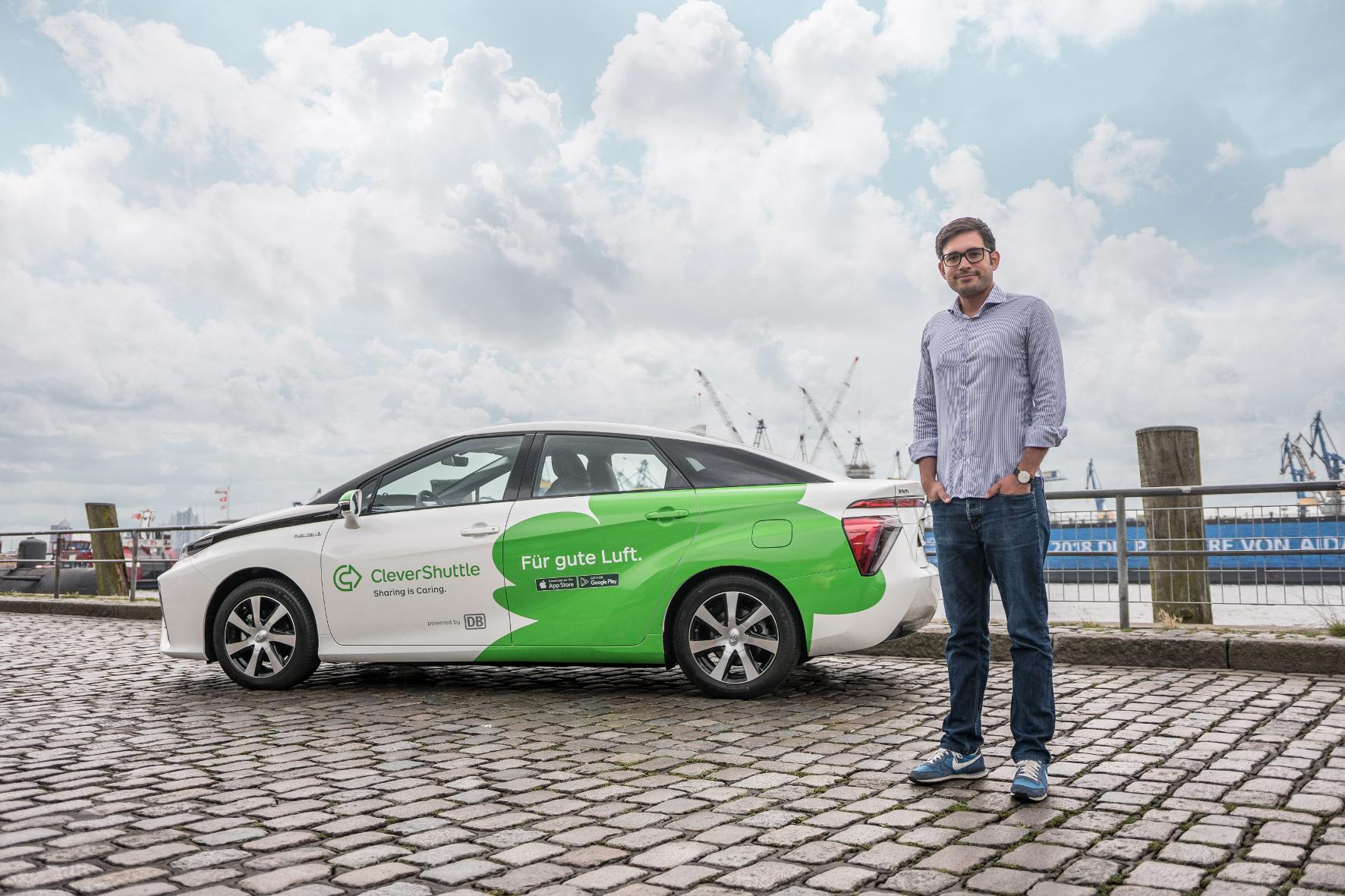 mid Groß-Gerau - Bruno Ginnuth, CEO und Mitgründer von CleverShuttle, blickt auf ein erfolgreiches Jahr zurück. CleverShuttle