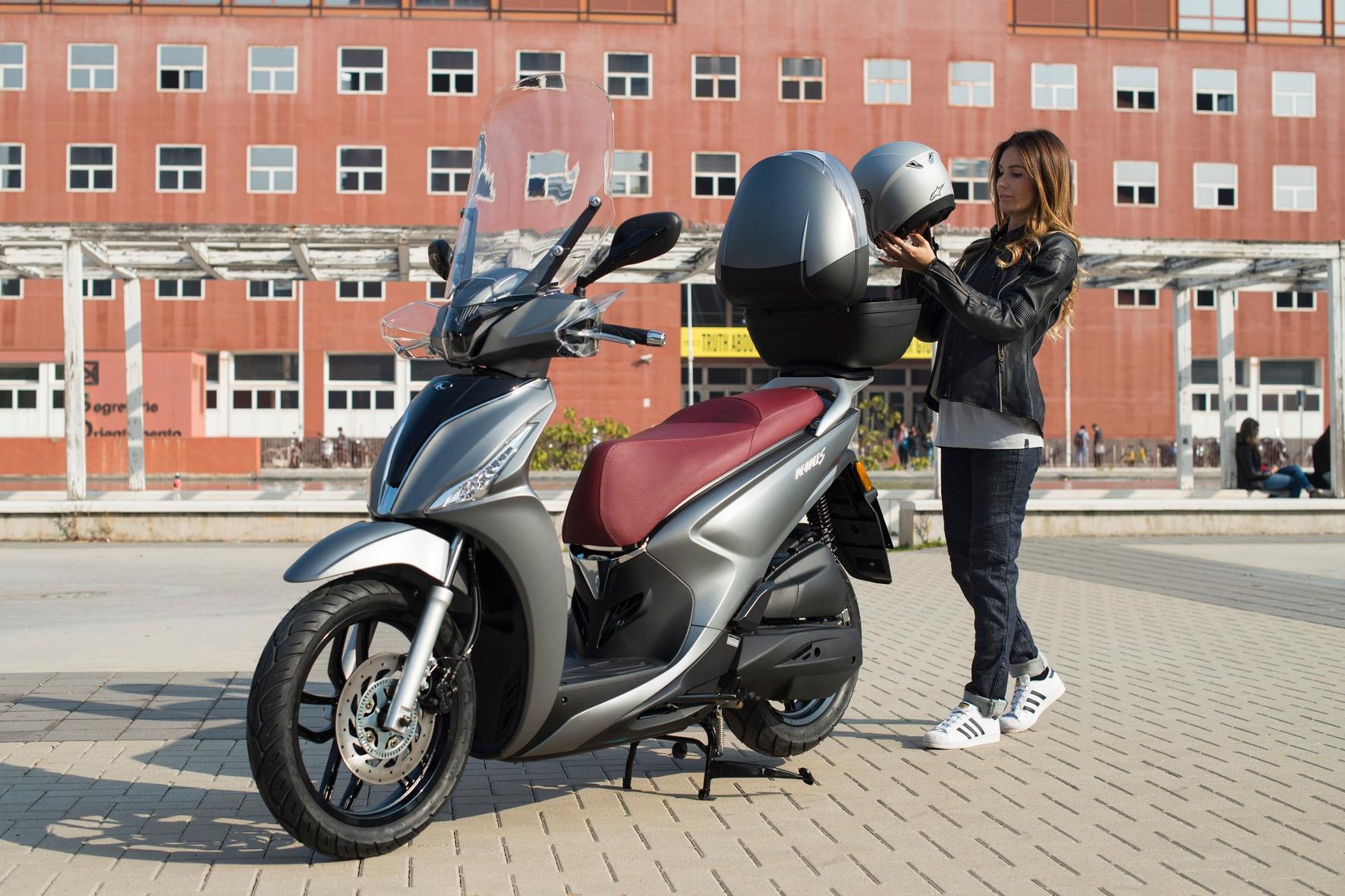 mid Groß-Gerau - Mit dem New People S 125i will Roller-Hersteller Kymco vor allem junge Stadtmenschen ansprechen. Kymco
