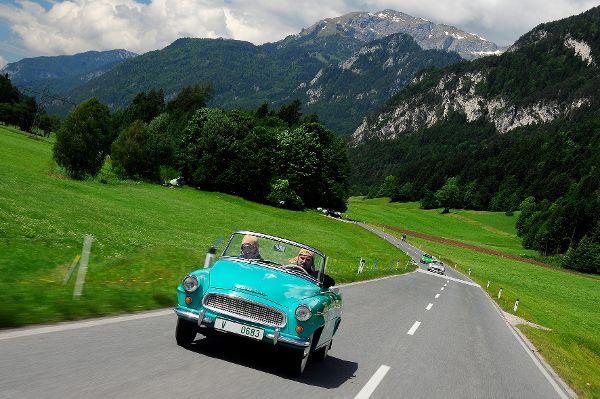 mid Groß-Gerau - Der türkisgrüne Felicia gehört laut Skoda zu den schönsten Cabrios der frühen 1960er-Jahre. Skoda