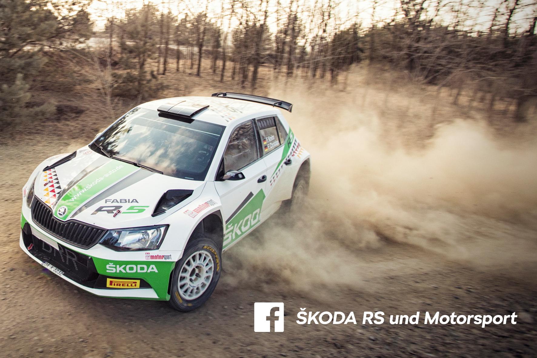 mid Groß-Gerau - Auf einem eigenen Facebook-Kanal gibt Skoda ab sofort Einblicke in die schnelle Welt des Motorsports. Skoda