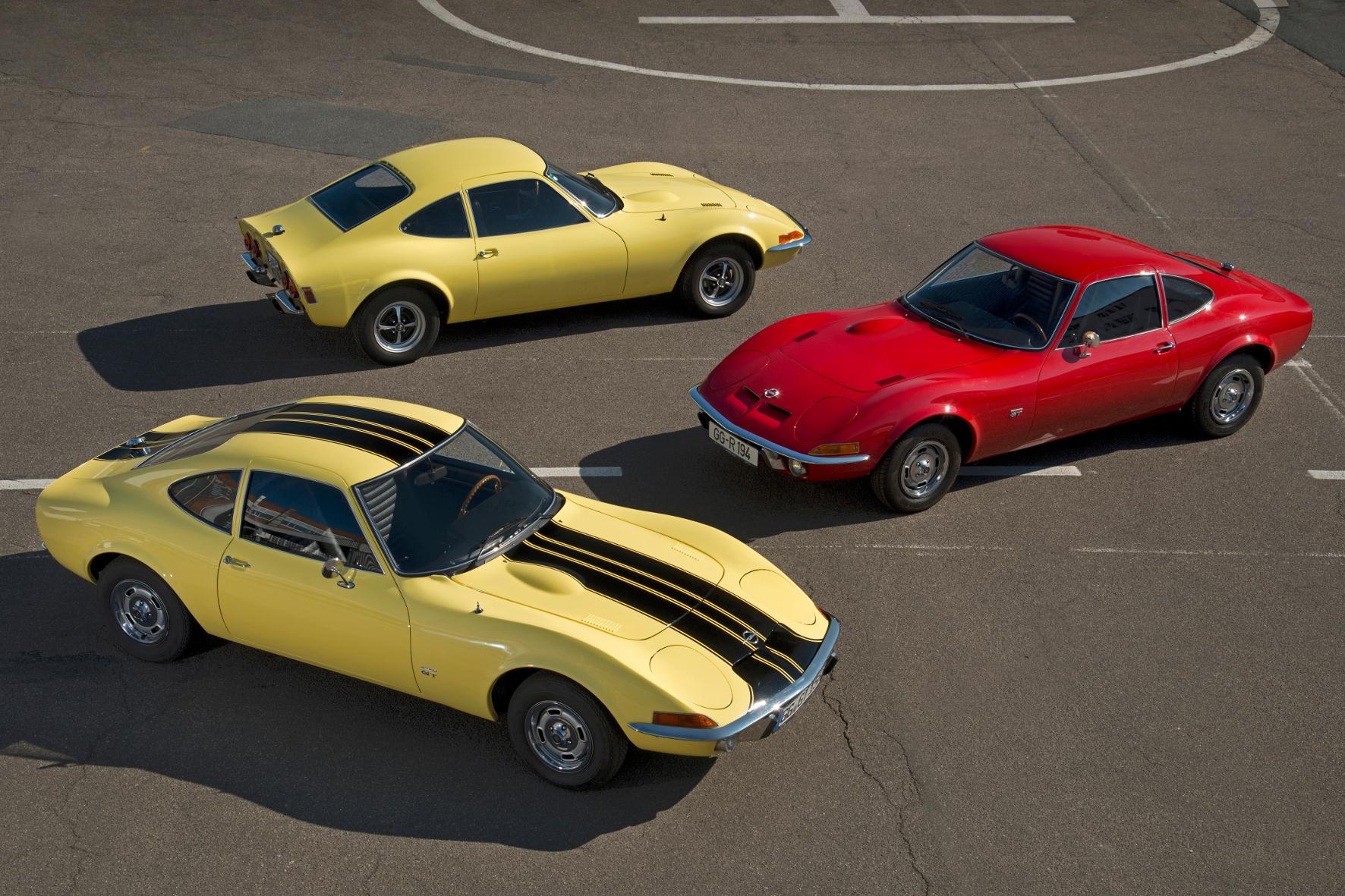 mid Groß-Gerau - Mit dem Opel GT schickten die Rüsselsheimer vor 50 Jahren einen Sportwagen auf die Straße, der mit seinem zeitlosen Design heute noch für Begeisterung sorgt. Opel