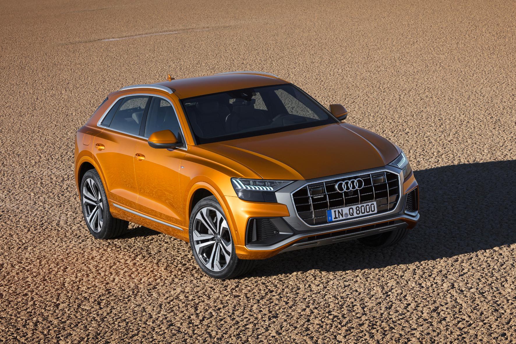 """mid Groß-Gerau - Der neue Audi Q8 soll """"Kraft, Hochwertigkeit und die spezielle Dynamik des permanenten Allradantriebs"""" vermitteln. Audi"""