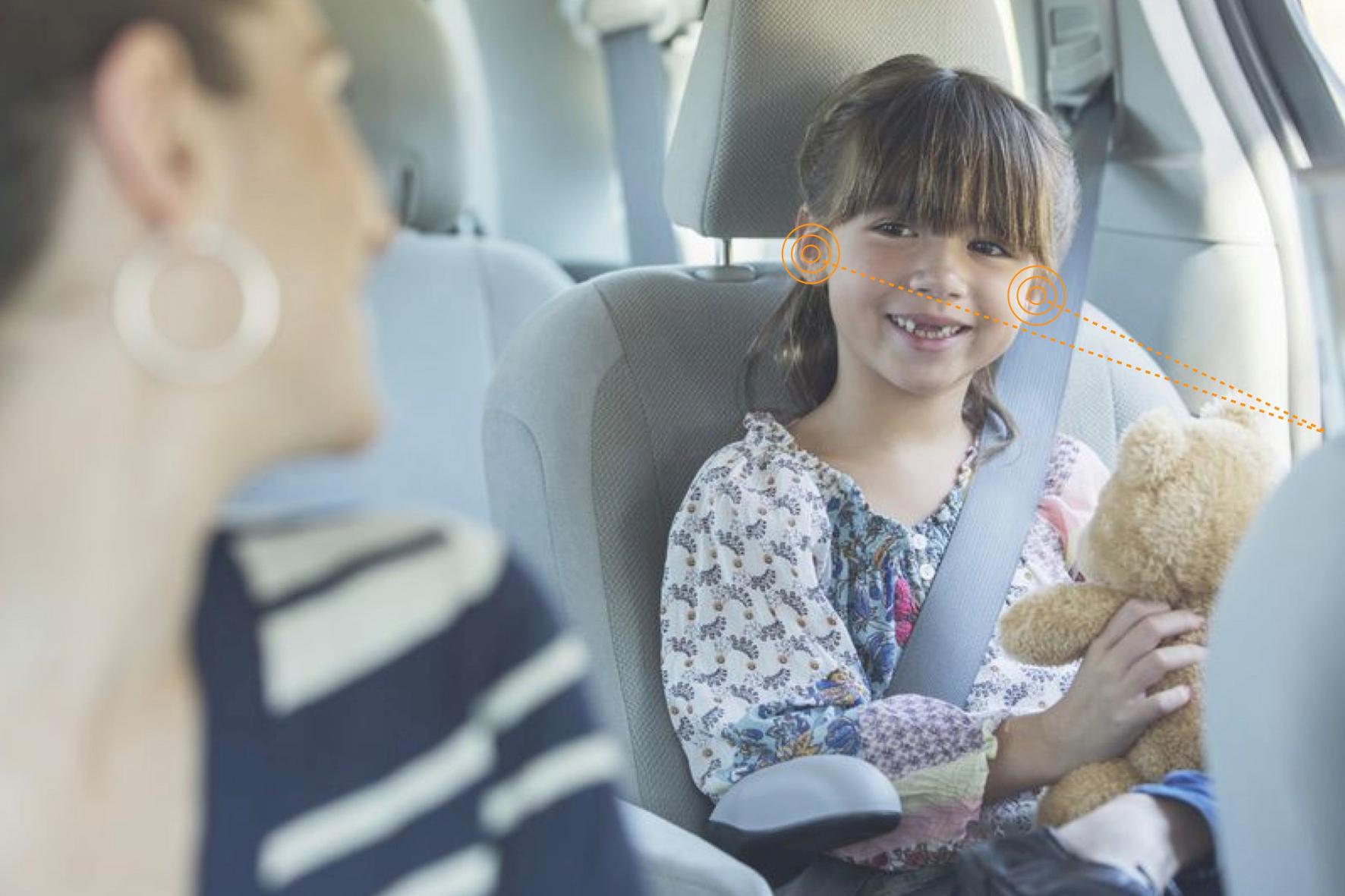 mid Groß-Gerau - Da gibt es was auf die Ohren: Jeder Fahrzeug-Insasse, ob groß, ob klein, kann ohne Kopfhörer seiner eigene Lieblingsmusik oder einem Hörspiel lauschen. Seat