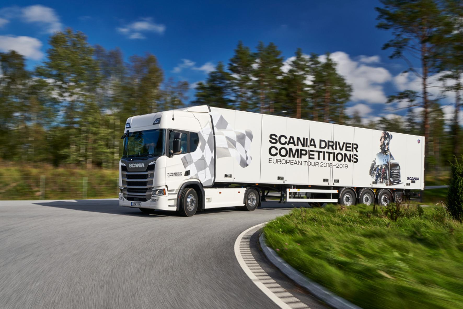 mid Groß-Gerau - Scania will wissen, wer in Europa der beste Berufskraftfahrer ist. Scania