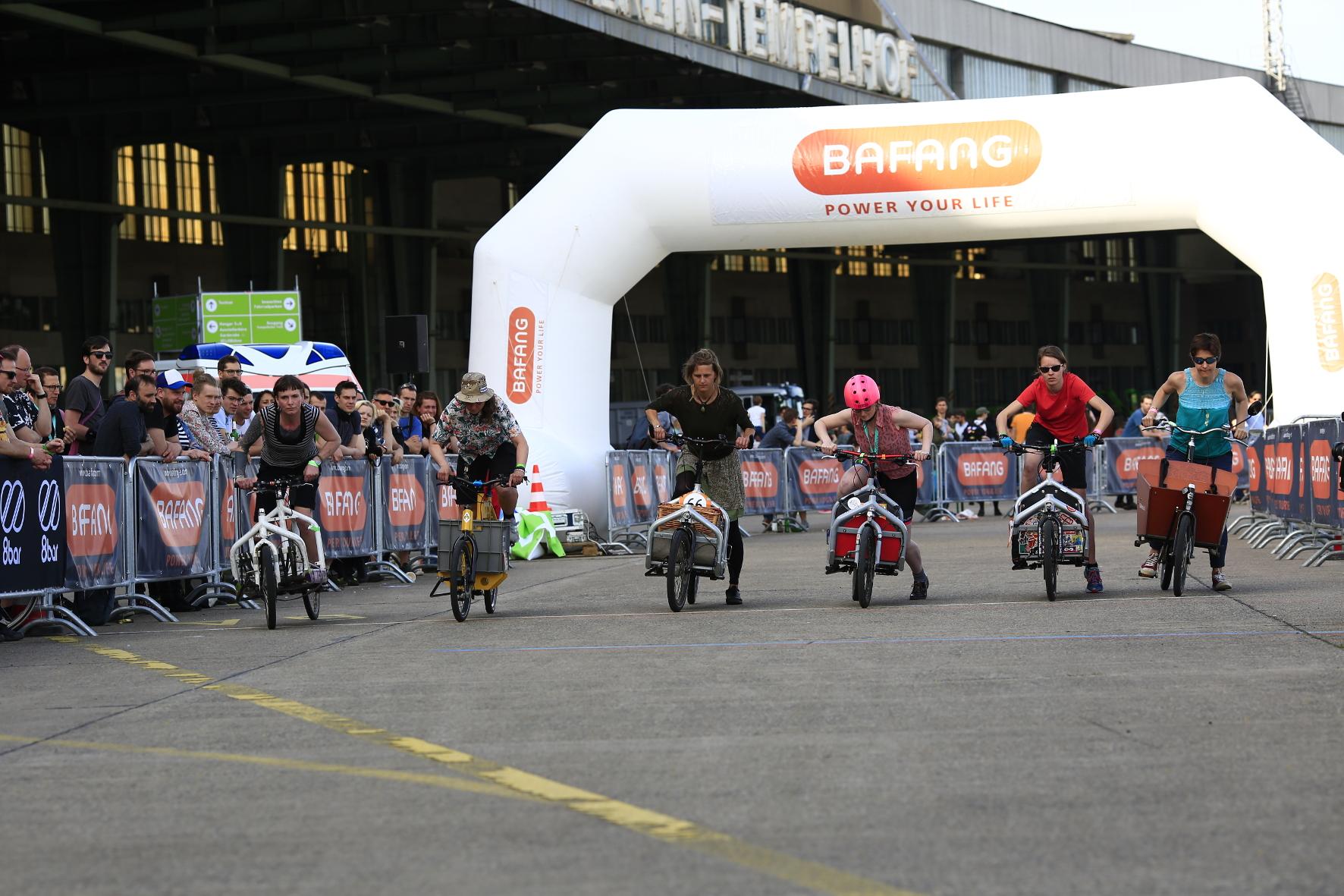 mid Groß-Gerau - Das Cargo-Bike-Race ist ein echter Renner. VELOBerlin