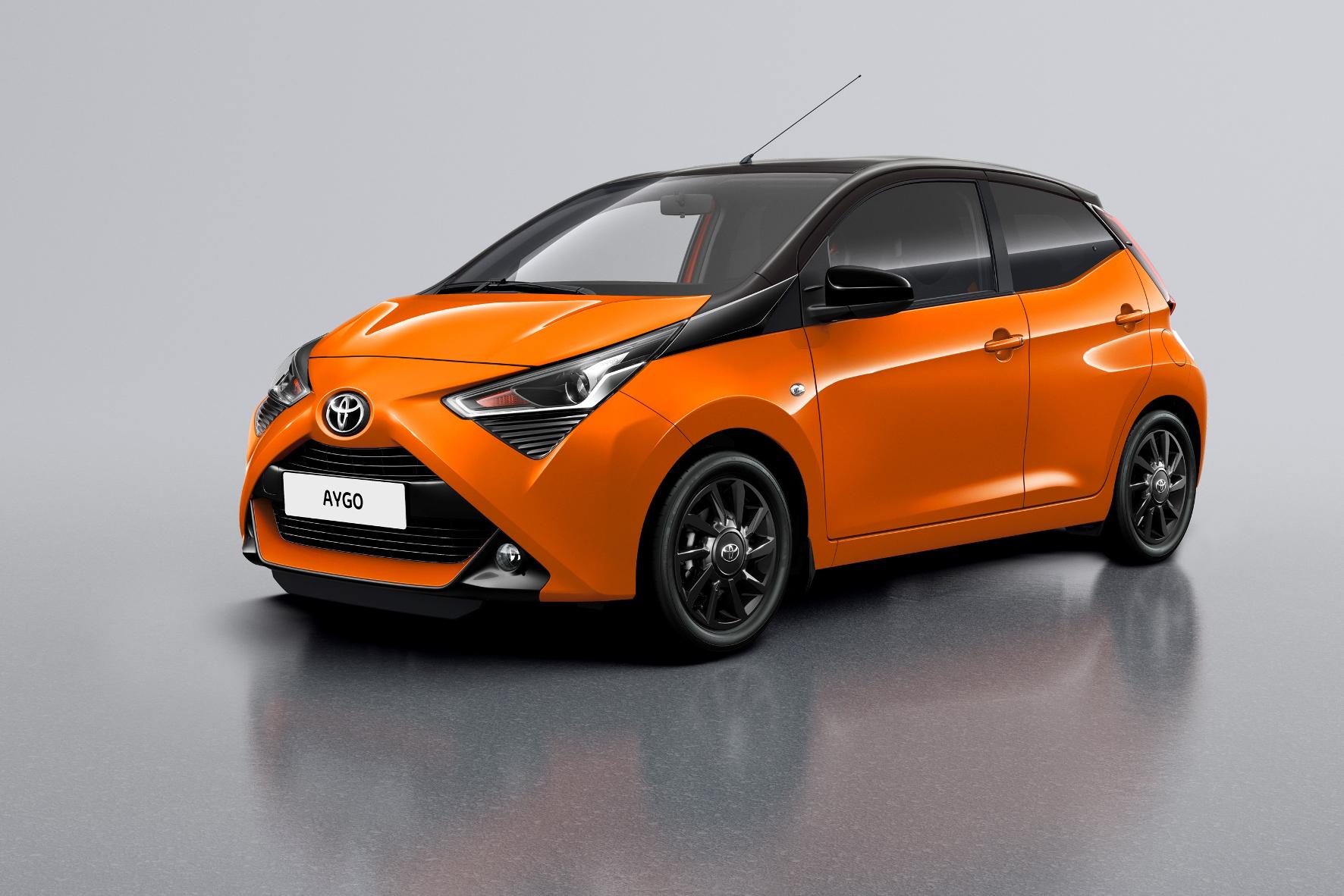mid Groß-Gerau - Mit dem Sondermodell Aygo x-cite will Toyota einen neuen Farbtupfer setzen. Toyota