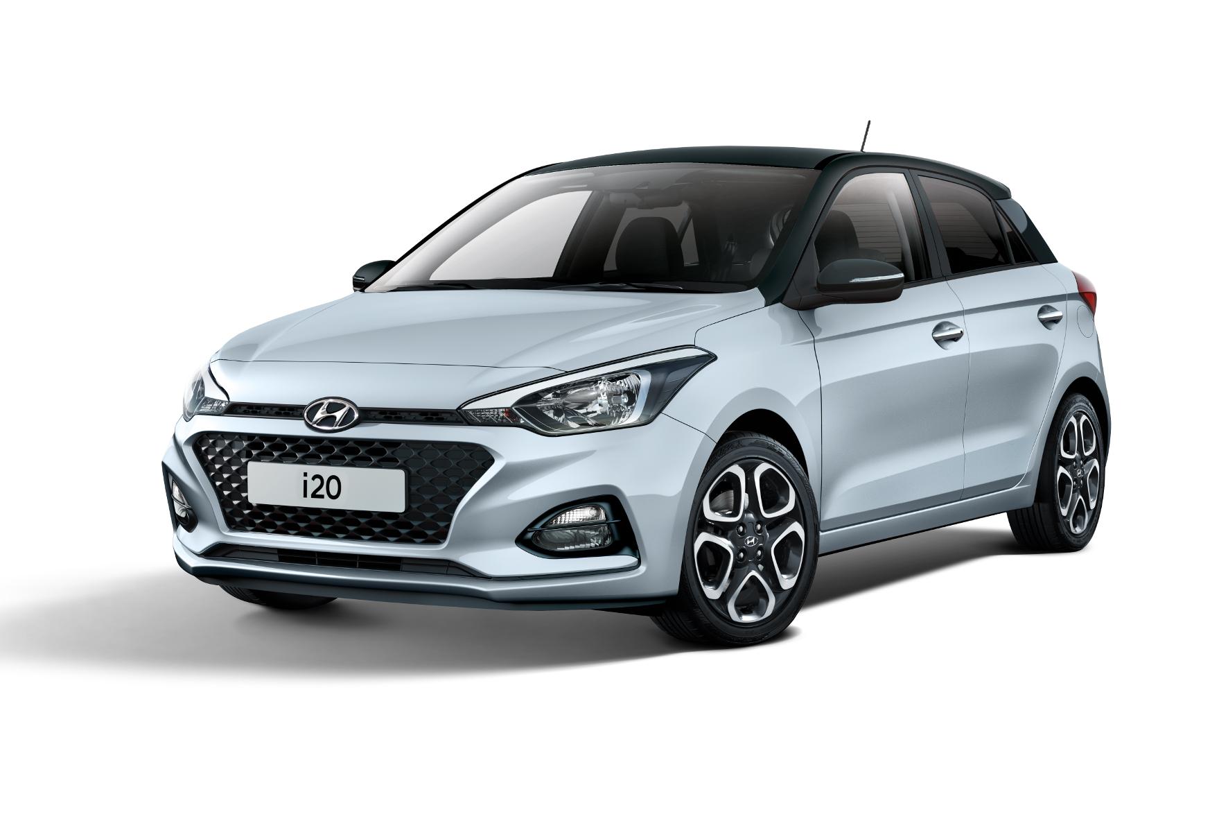 mid Groß-Gerau - Der kleine Hyundai i20 besitzt als Sondermodell