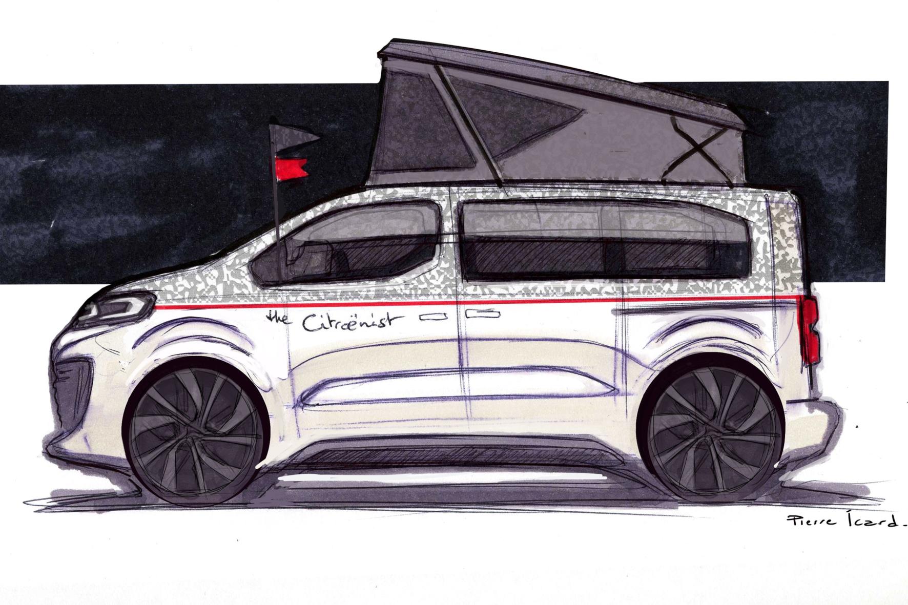 mid Groß-Gerau - Bisher gibt es vom Citroenist Concept nur eine Skizze. PSA