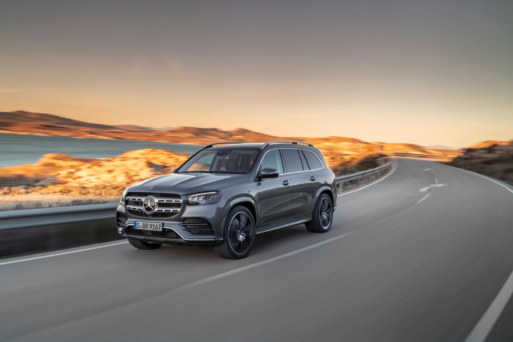 mid Groß-Gerau - Neues Top-Modell bei den SUV mit Stern: der Mercedes-Benz GLS. Daimler