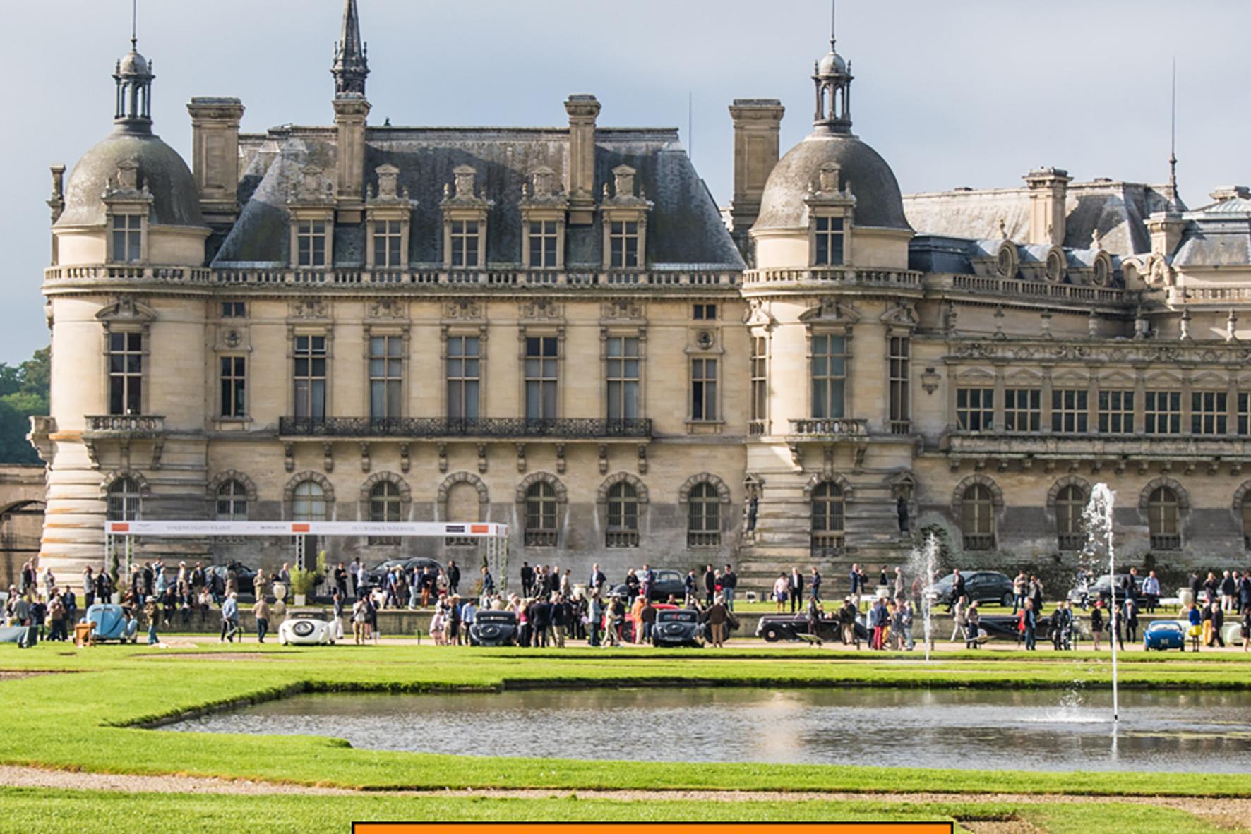 mid Groß-Gerau - Französische Pracht: das Schloss Chantilly 50 Kilometer nordöstlich von Paris. Lexus