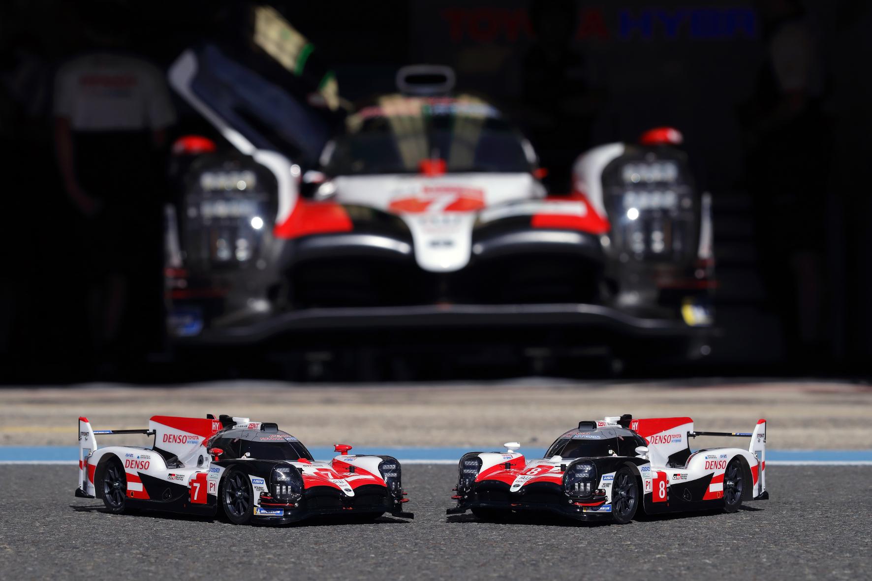 mid Groß-Gerau - Große Nummer: Toyota feiert mit dem Rennwagen TS050 Hybrid einen Doppelsieg beim berühmten 24-Stunden-Rennen von Le Mans. Toyota