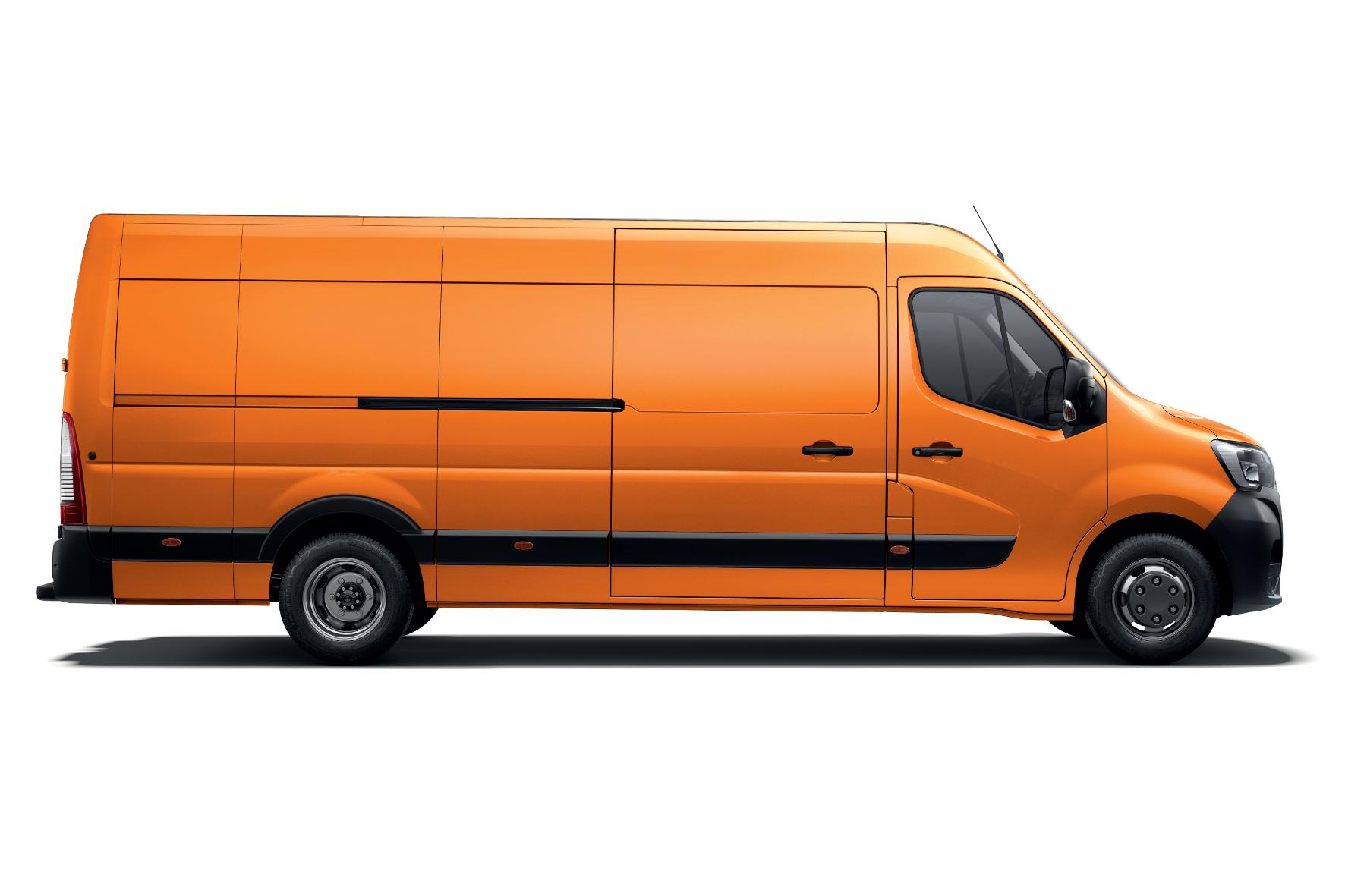 mid Lissabon - In voller Länge: Der Renault Master misst in der gestreckten Version 6,88 Meter. Renault