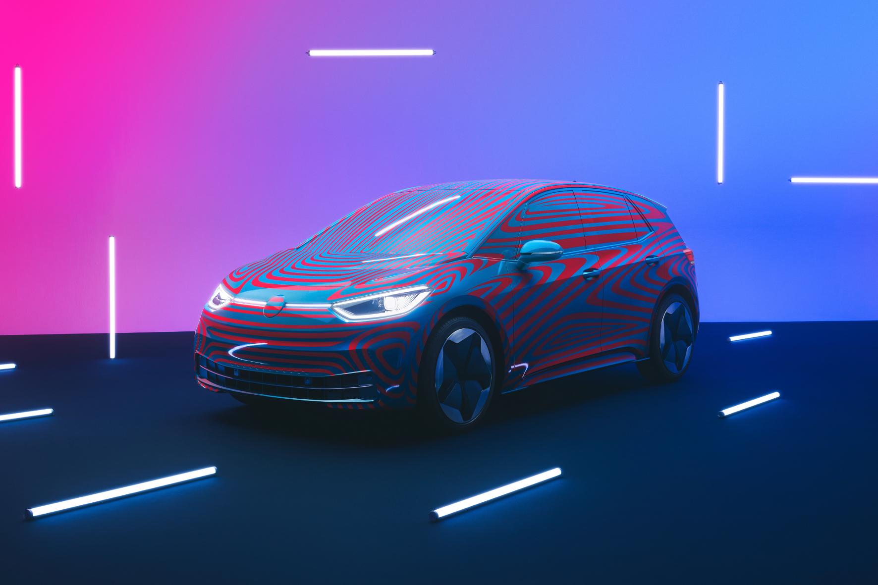 mid Groß-Gerau - Startklar: Der ID.3 von VW soll binnen weniger Monate in Produktion gehen. Volkswagen