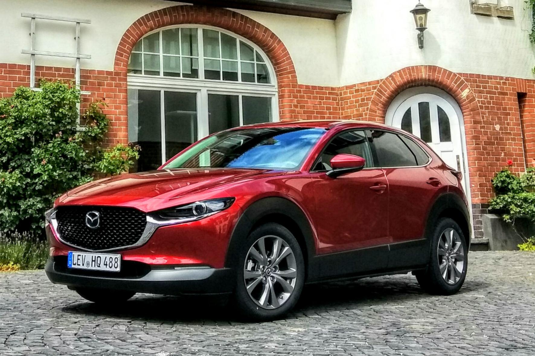 mid Königstein - Der neue Mazda CX-30 reiht sich zwischen CX-5 und CX-3 ein. Solveig Grewe / mid