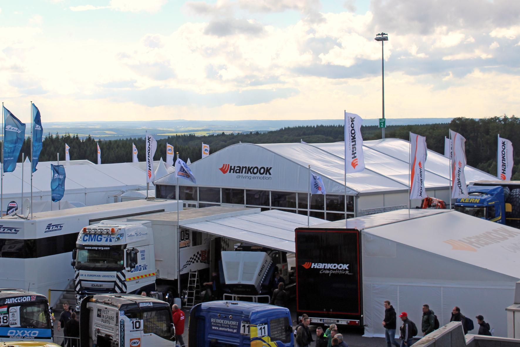 mid Groß-Gerau - Hankook ist beim Truck-Grand-Prix auf dem Nürburgring seit vielen Jahren eine feste Größe. Hankook