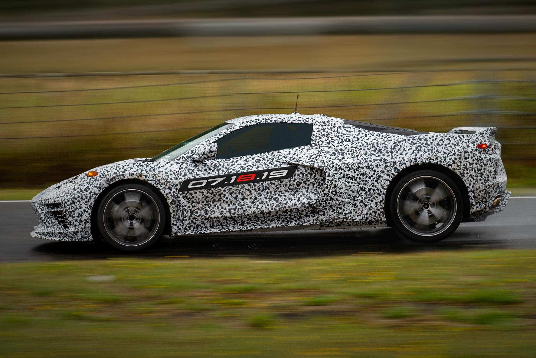 mid Groß-Gerau - Neues aus dem Hause GM: die künftige Corvette Stingray. GM Company
