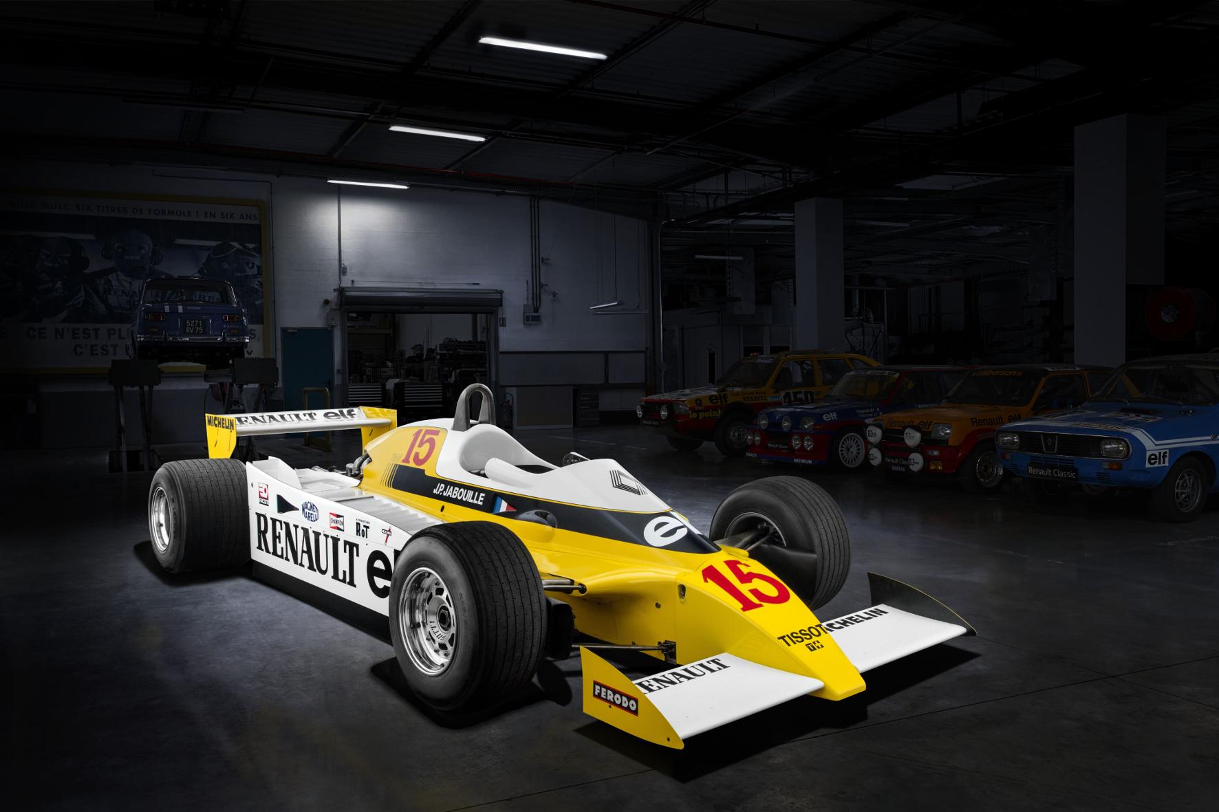 mid Groß-Gerau - Glorreiche Vergangenheit: Der Triumph von Jean-Pierre Jabouille 1979 im neu konstruierten RS10 ist gleichzeitig auch der Beginn für den Siegeszug der turboaufgeladenen Fahrzeuge der Marke Renault. Renault
