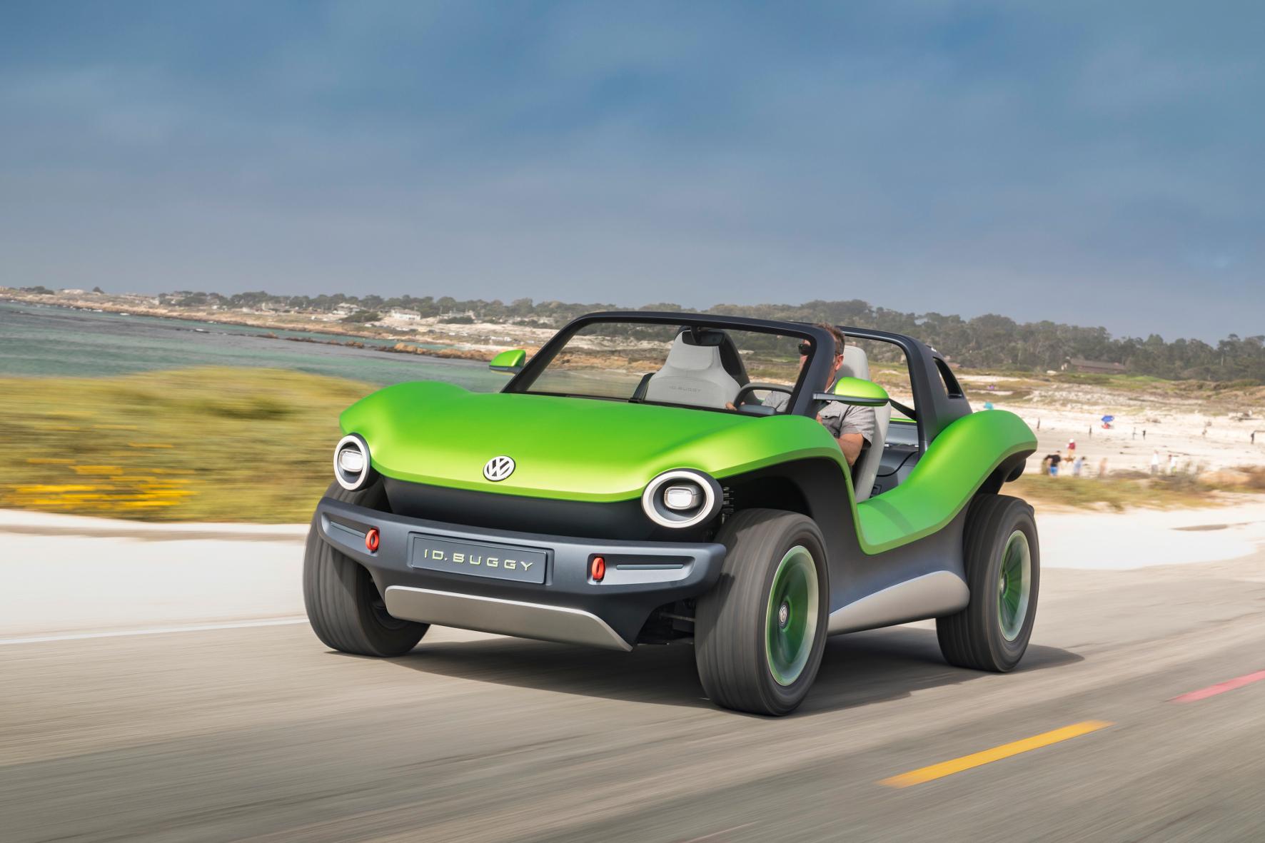 mid Groß-Gerau - Zeigt sich an der kalifornischen Küste: die Elektro-Studie ID- Buggy. VW