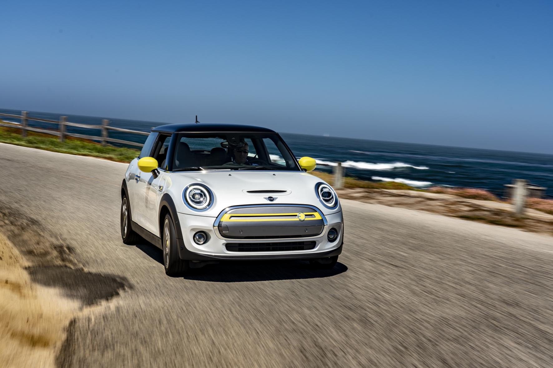mid Groß-Gerau - Flott und elektrisch an der Pazifikküste: der neue Mini Cooper SE. Mini