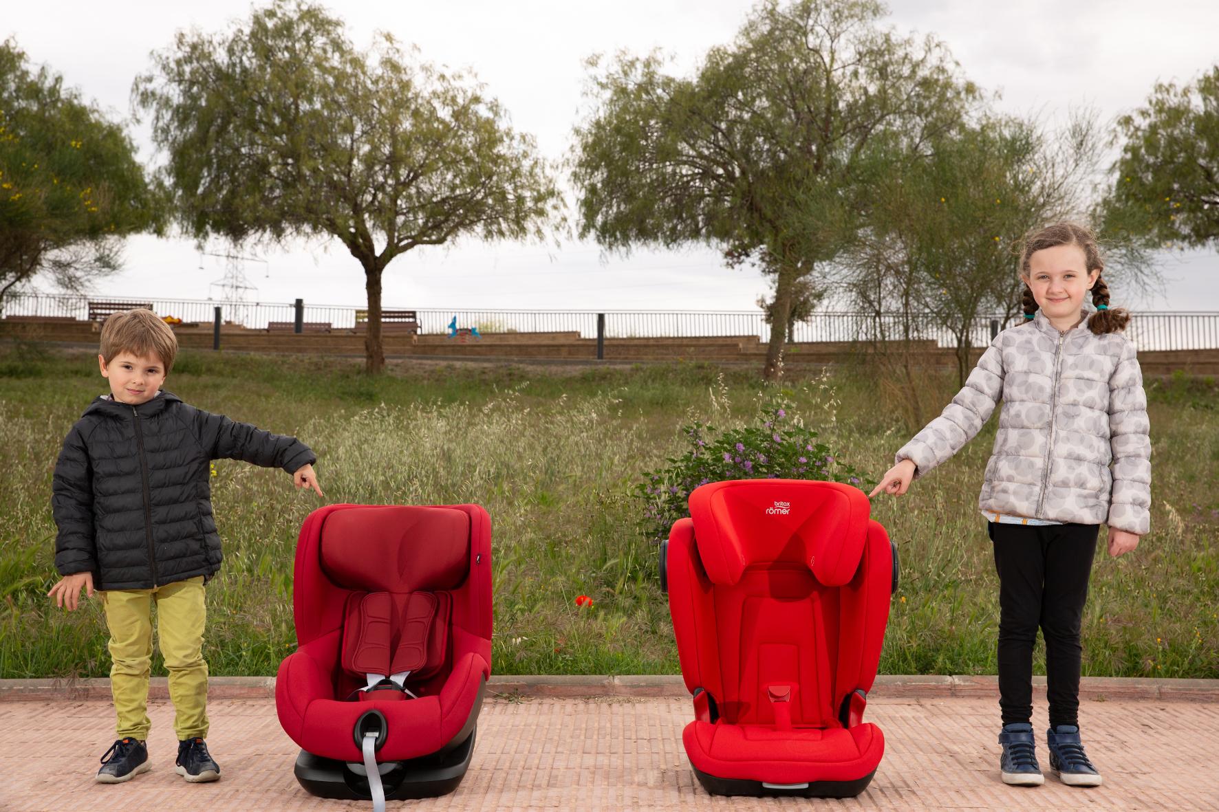 mid Groß-Gerau - Bei Kindersitzen spielt die passende Größe eine wichtige Rolle. Seat