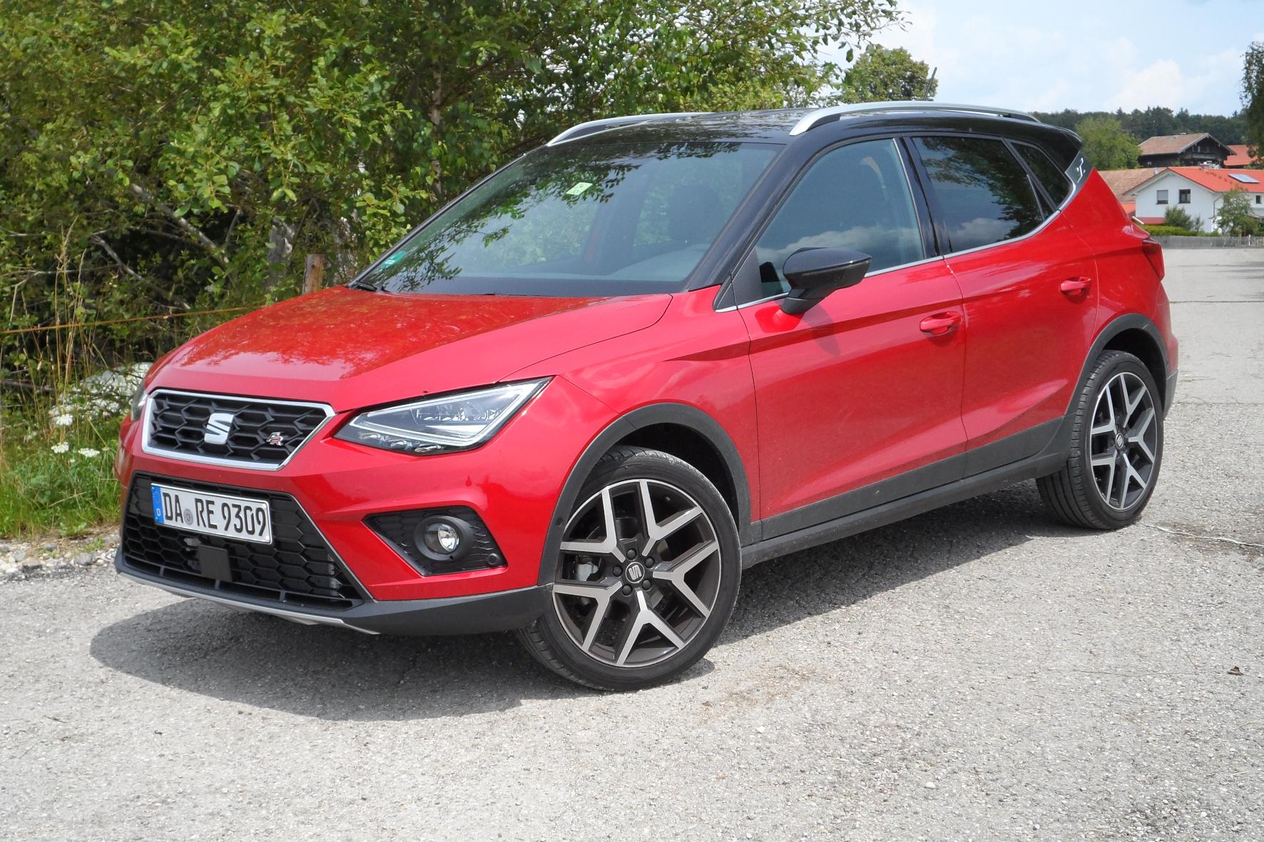mid Groß-Gerau - Das City-SUV Arona gibt es auch mit Erdgas-Antrieb - bei Seat heißt dieser TGI. Rudolf Huber / mid