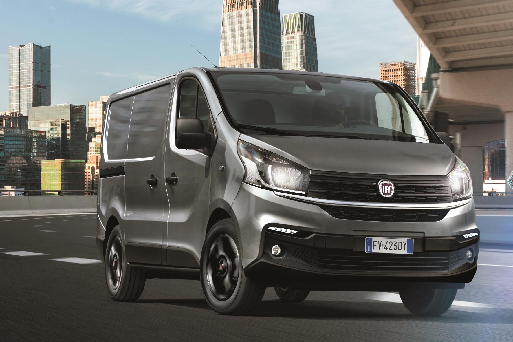 mid Groß-Gerau - Mit neuen Talenten: der überarbeitete Fiat-Transporter. FCA