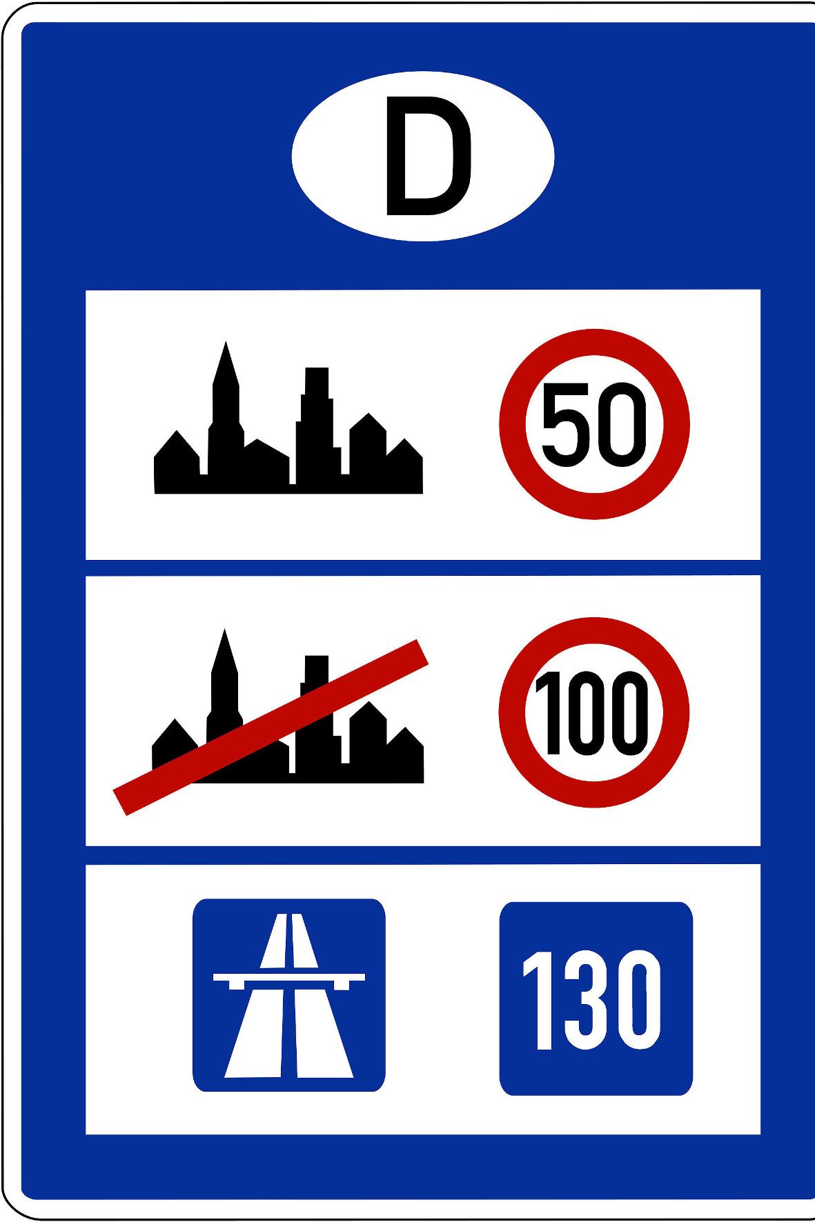 mid Groß-Gerau - Richt- oder Höchstgeschwindigkeit: Bei der Zahl 130 gehen die Meinungen mal wieder auseinander. STVO
