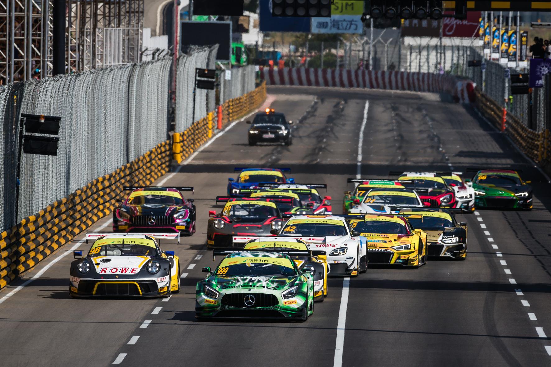 mid Groß-Gerau - Berühmt und berüchtigt: das Stadtrennen in Macau vor der Südküste Chinas. Mercedes-AMG