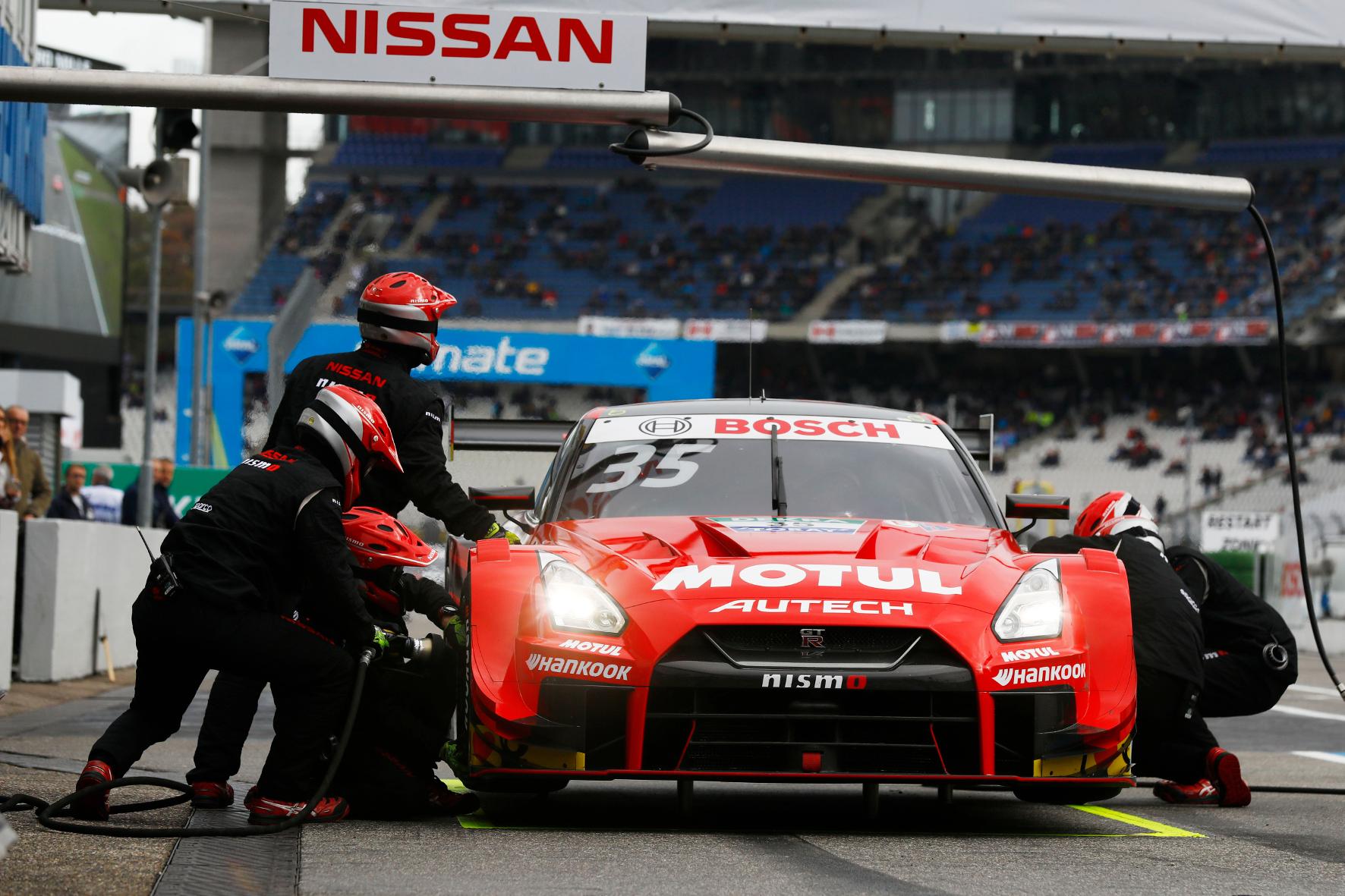 mid Groß-Gerau - Auch der Nissan GT-R NISMO GT500 wird beim Tourenwagen-Spektakel auf dem Fuji Speedway am Start sein. DTM / ITR e.V.
