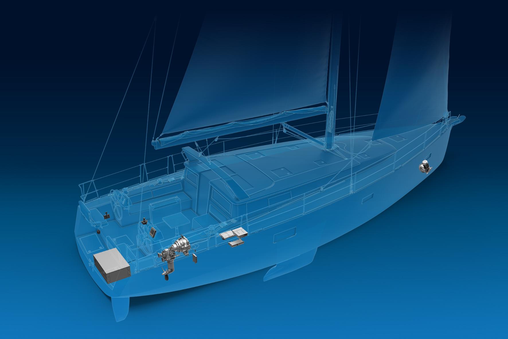 mid Groß-Gerau - Kein Lärm, keine Emissionen: ZF erprobt ein rein elektrisches Antriebssystem seit September 2019 in einem Innovationsschiff. ZF