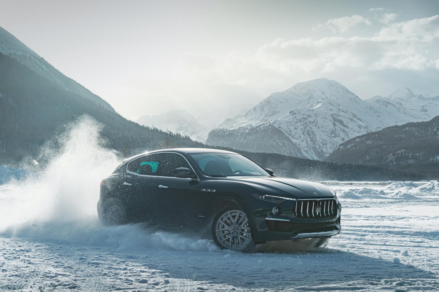 mid Groß-Gerau - Vor majestätischer Alpenkulisse: Der Maserati Levante
