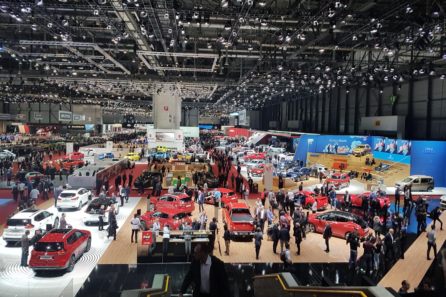 mid Groß-Gerau - Der Genfer Automobilsalon ist traditionell die erste europäische Automesse im Jahr. Offiziell heißt er Geneva International Motor Show (GIMS). Jutta Bernhard / mid