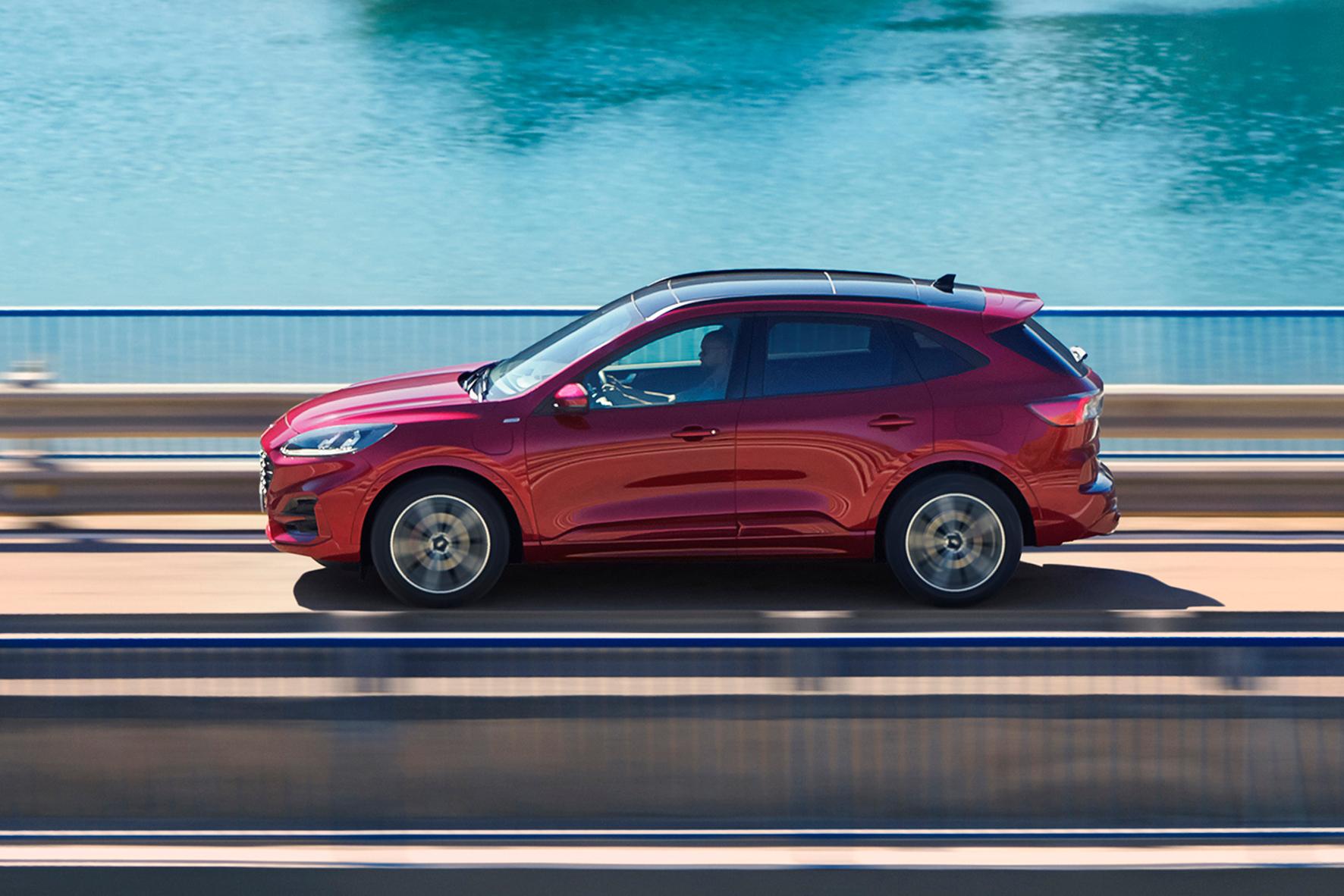 mid Groß-Gerau - Den Ford Kuga gibt es auch als Plug-in-Hybrid. Ford