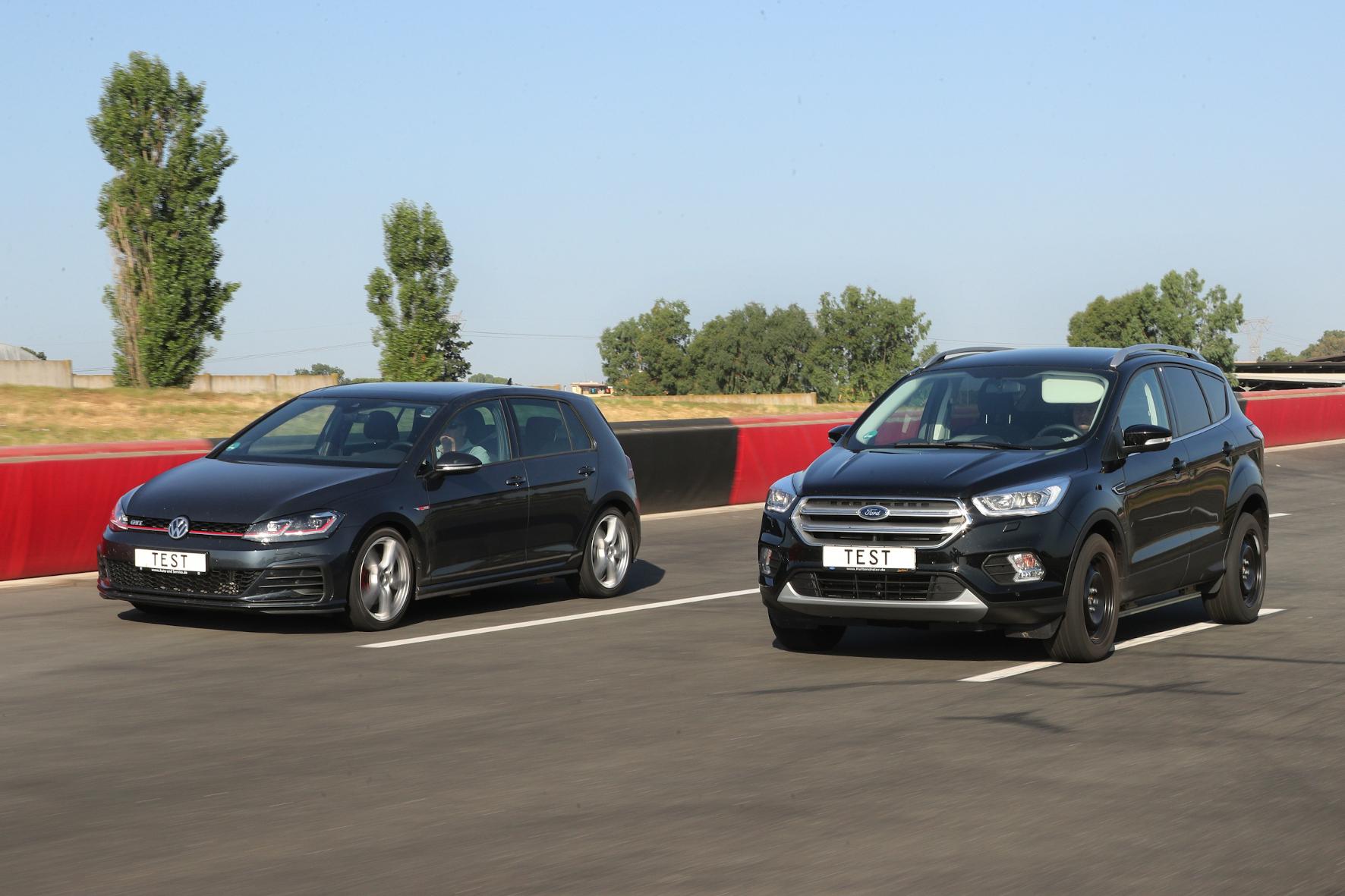 mid Groß-Gerau - Beim Sommerreifen-Test 2020 schneiden Alternativgrößen für Kompakte und SUV gut ab. ADAC