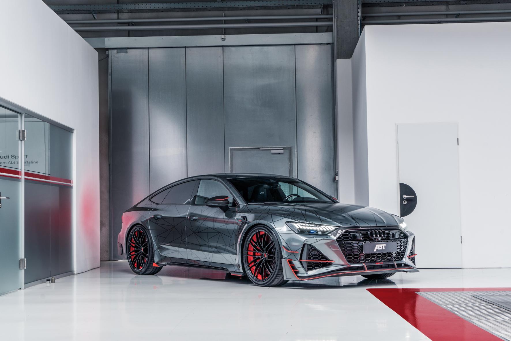 mid Groß-Gerau - Sportliches Glanzstück: der Audi Abt RS7-R. Abt Sportsline