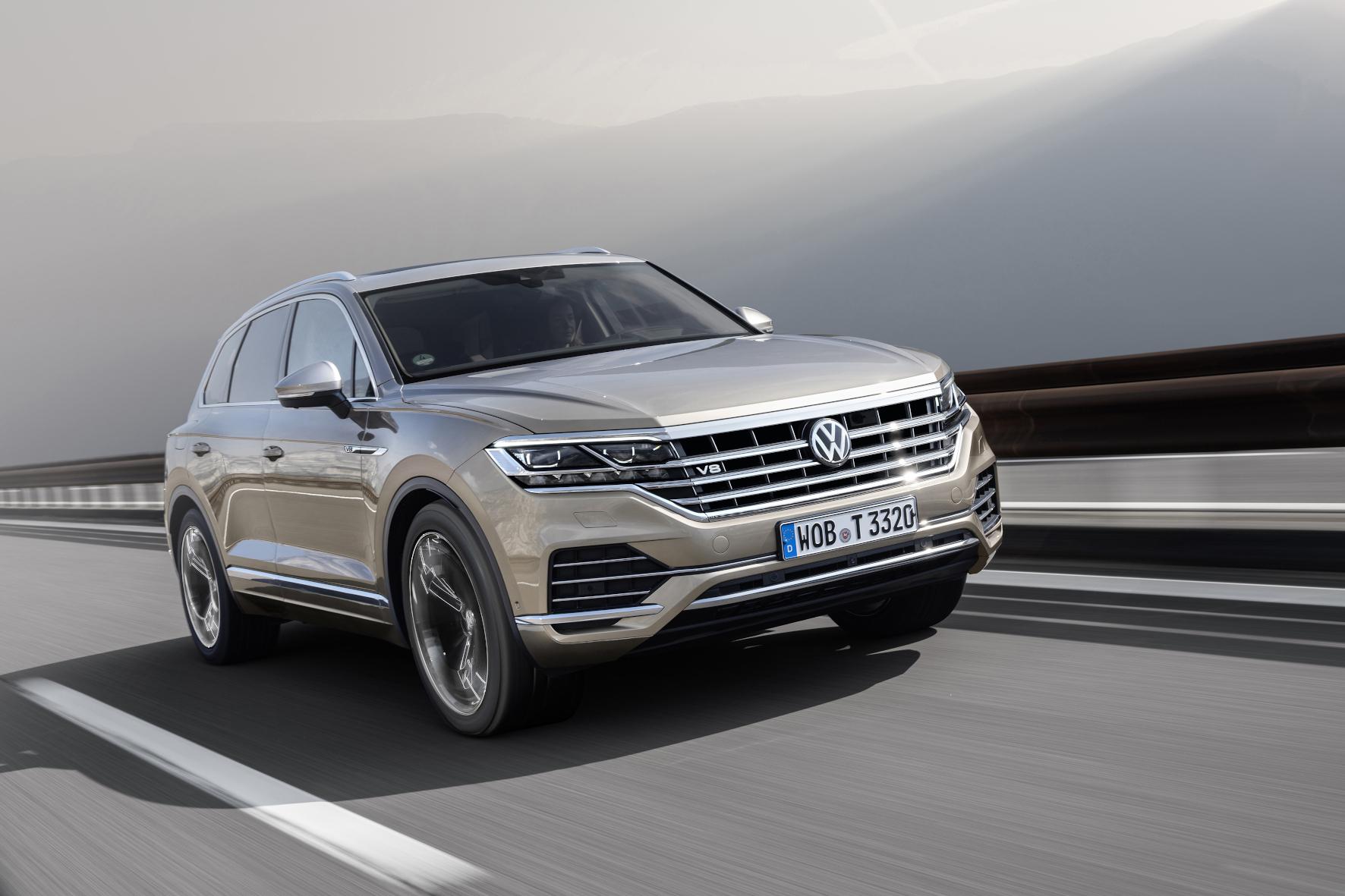 mid Groß-Gerau - Der V8 TDI im Touareg unterschreitet laut VW den Euro-6-NOx-Grenzwert von 80 mg/km um ein Vielfaches. VW