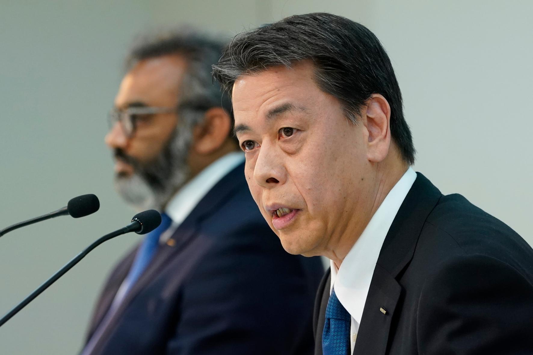 mid Groß-Gerau - Verkündet ein striktes Sparprogramm: Nissan-CEO Makoto Uchida. Nissan