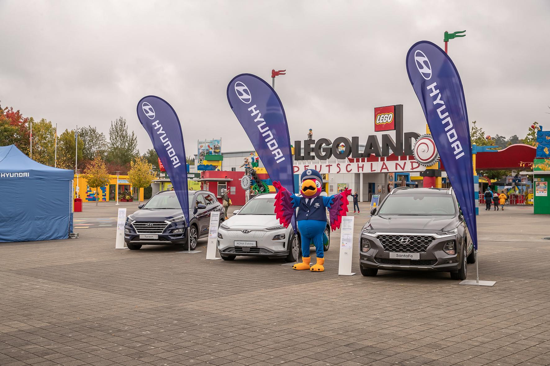 mid Groß-Gerau - Jubiläum: Seit inzwischen zehn Jahren gibt es die Kooperation zwischen Hyundai Motor Deutschland und dem Legoland Deutschland Resort. Hyundai