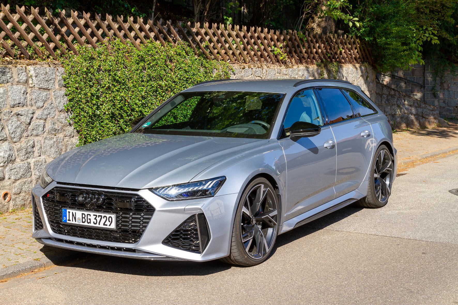 mid Groß-Gerau - Understatement: Dem Audi RS6 Avant sieht man nicht sofort an, was er zu bieten hat. Mike Neumann / mid